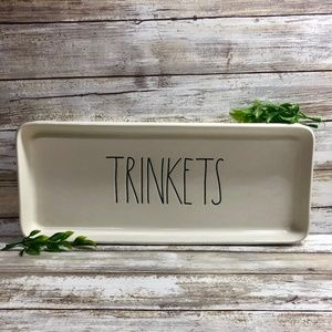 New Rae Dunn TRINKETS Multi-Purpose Tray